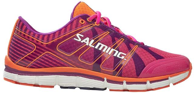 Salming W's Miles Shoes Sosa Glo/Purple Cactus Flower